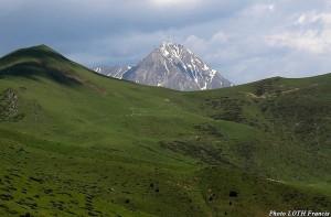Vue sur le Pic du Midi de Bigorre (65)